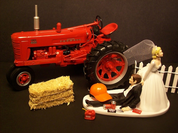 international tractor wedding cake topper unavailable listing on etsy 16467