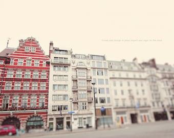 London Art, London Photo, London England, Home Art Decor, London Architecture, Wall Art Decor, Red Decor, Red And White, London Photography