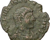 Amazing 355 AD Ancient Roman coin RARE Lifetime certificate of Autheticity peace of mind value