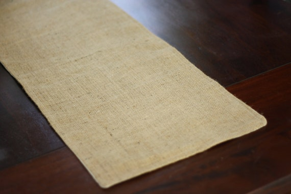 Items similar to burlap table runner fully lined and for 12 ft table runner