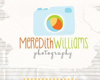 Unique photographer logo and watermark photography branding