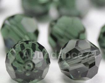 Swarovski Elements Crystal Beads 5000 8mm Round Ball Beads TURMALINE - Select Quantity
