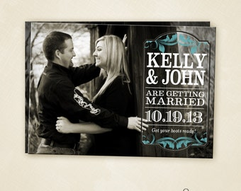 Western Save the Date  PRINTABLE