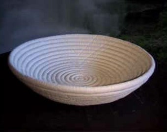 """8"""", Southwestern, Home, decor, Native American, American Indian, Indian Bowl, Rope bowl, Flower dish,ready to paint, u-paint, Ceramic bisque"""