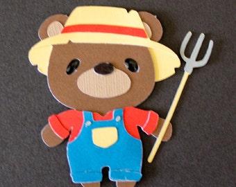 Teddy Bear Die Cut - FARMER