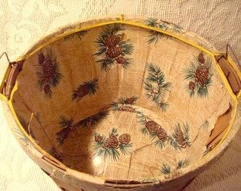 Farm Orchard Wooden Basket