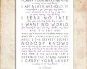 i carry your heart. e. e. cummings Poem. Printable Design. 29x39cm. Or A3. DIY. PDF.