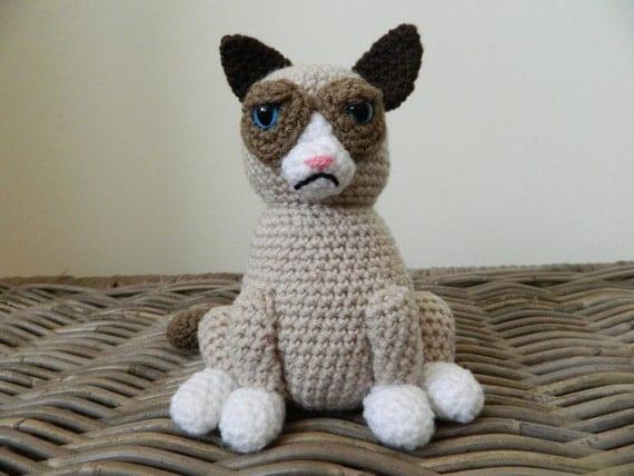 Grumpy Cat amigurumi - CROCHET