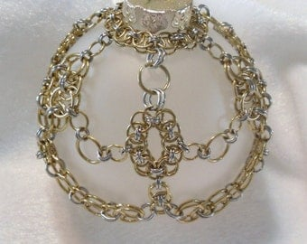 Chain Maille Ornament O-031
