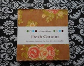 Fresh Cottons charm pack - by Fig Tree & Co for Moda