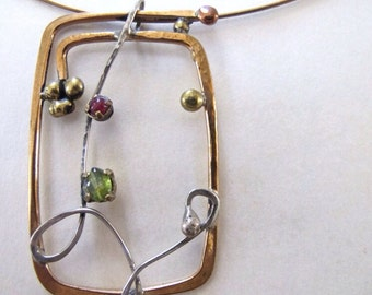 Brass necklace