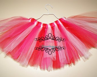 Baby tutu, Newborn tutu, Pink red tutu, Tutus for girls, Tutus for Babies, Pink girl tutu, Baby girl tutus, Baby girl tutu, Red tutus, Tutu