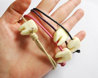 Tooth Bracelet - Glow in the Dark