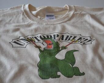 T-Rex Shirt Unstoppable Funny T Rex T-shirt Dinosaur Shirt Tshirt for men women teens and kids
