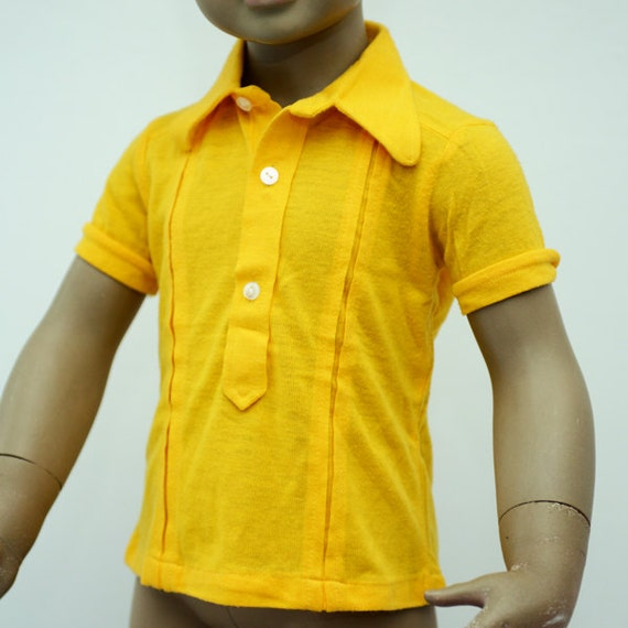 cute short sleeve button down shirt for a little child