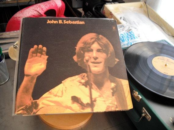 John B Sebastian On Reprise Records Debut Album1970 Original