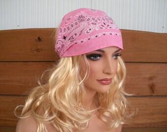 Women's Headband Fabric Headband Summer Fashion Accessories Hair Wrap Head Scarf Headwrap Bandana in Pink - Choose color