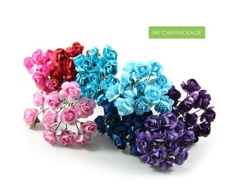 "0.5"" Paper Flowers 144 Stems Craft DIY Craft Flowers Wedding Ideas Centerpieces"