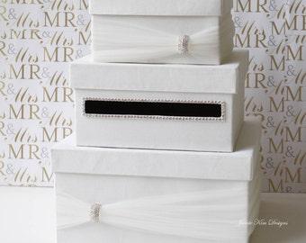 Wedding Card Box, Gift Card Holder, Money Box  - Custom Made to Order