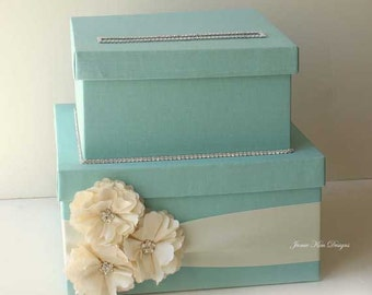 Wedding Card Box, Money Card Box, Gift Card Box - Custom Made to Order