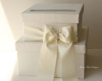 Wedding Card box, Money Box, Card Holder -  (Custom Made to Order)