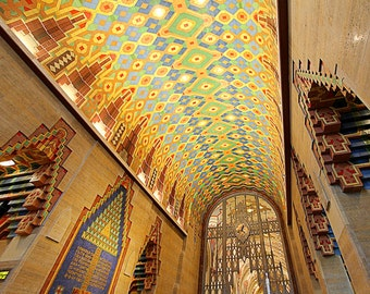 Detroit Photography - Guardian Building Lobby