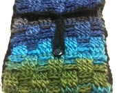 Crocheted Cover for Kindle/Nook: Made from Handspun Yarn