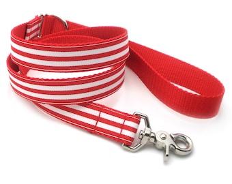 Monarch Stripe Matching Dog Leash - 15 Colors