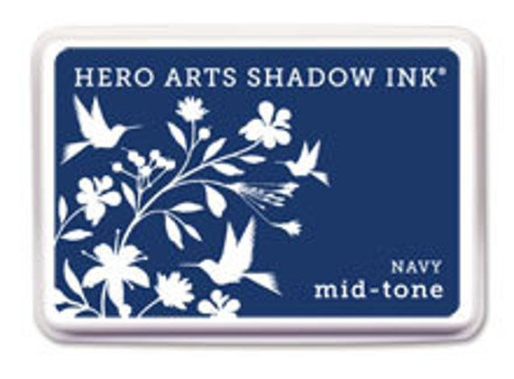 Hero Arts Navy Mid-Tone Shadow Ink Af234