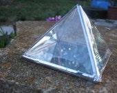 "4"" Glass Pyramid Charging Box"
