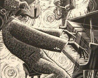 Jazz Piano II - print