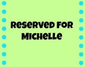 Reserved for Michelle: Six Washcloths