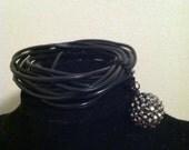 Gothic Midnight Party Ball Bracelet