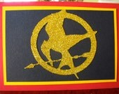 Hunger Games tented card