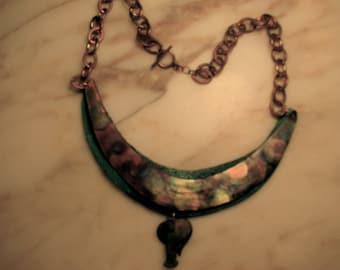 Copper and Bronze Necklace
