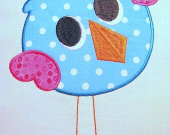 Love Birds 02 Machine Applique Embroidery Design - 4x4, 5x7 & 6x8