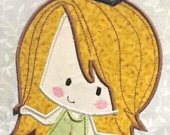 Cute Baby Mermaids 03 Machine Applique Embroidery Design - 4x4, 5x7 & 6x8