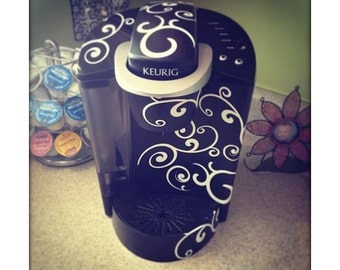Coffee Pot Swirl Wrap
