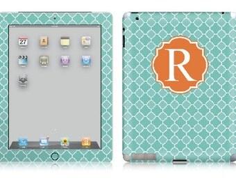 Quatrefoil iPad Skin