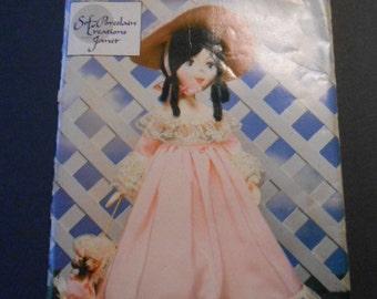 "Butterick 3606, Soft Porcelain Doll an clothes, 19"""