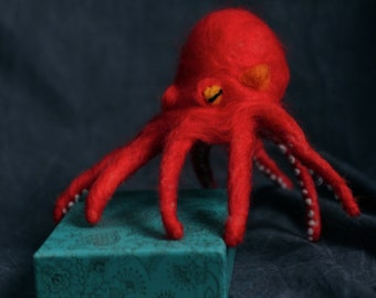 Needle Felted Pacific Octopus