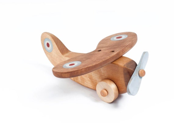 Wooden Toy Airplane, Wooden Toy Vehicle, Kids Toy