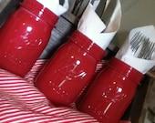 Painted Ball Jars