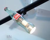 Soda bottle Track light / Track head.