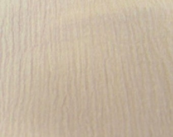 """54"""" Natural Cotton Gauze Fabric-15 Yards Wholesale by the Bolt"""