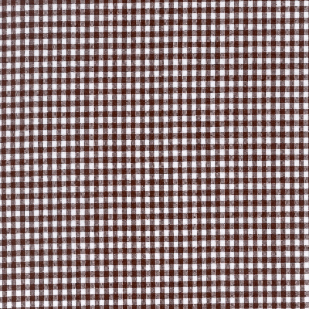 60 brown gingham check fabric 1 8 check 20 yards for Gingham fabric