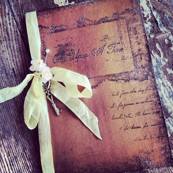 Wedding Invitation Book Style: Items Similar To Pocketfold Invitations Fairytale Wedding