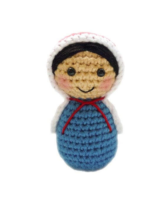 Amigurumi Russian Dolls : Crochet Russian Doll Pattern Amigurumi by TheCrochetCabin ...