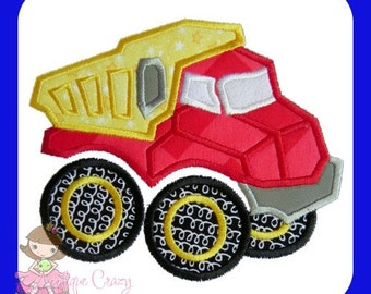 Toy Dump Truck Applique design
