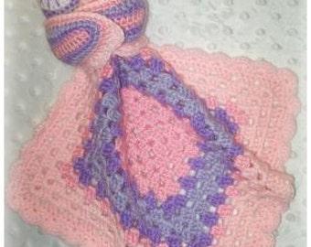 Sleepy Owl Lovey Crochet Pattern